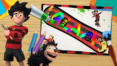 Dennis and Gnasher Unleashed - Your Snowboard Designs