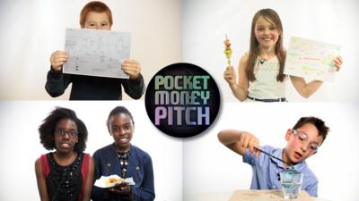 Pocket Money Pitch - Young entrepreneurs audition for Pocket Money Pitch