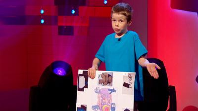 Pocket Money Pitch - Jack pitches his rucksack to the buddies