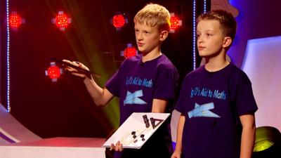 Pocket Money Pitch - 'Big O's Aid to Maths' pitches to the buddies