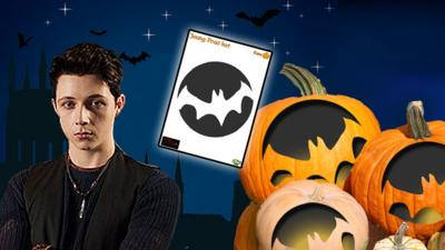Young Dracula - Pumpkin Template - Young Dracula: Bat
