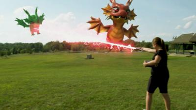 Rank the Prank - Effectorizer: Catching monsters at the park