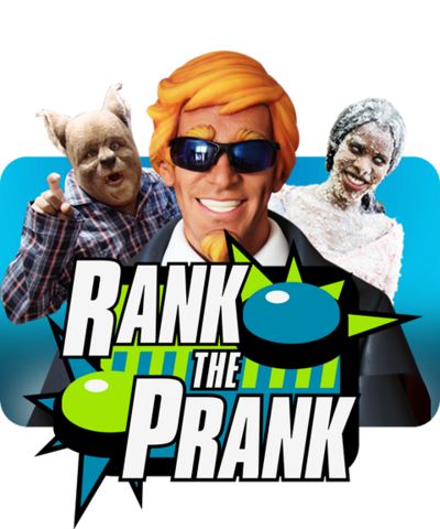 Rank the Prank logo.