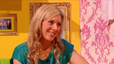 Sam & Mark's Big Friday Wind-Up  - Naomi Wilkinson gets wound up
