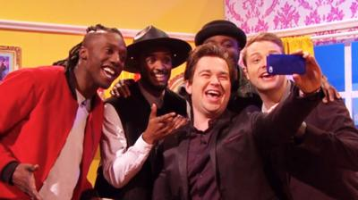 Sam & Mark's Big Friday Wind-Up  - Rough Copy Selfie