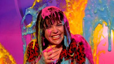 Saturday Mash-Up! - Briony gets slimed