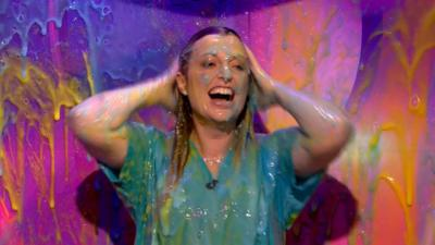 Saturday Mash-Up! - Cat from The Pets Factor get slimed