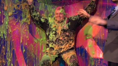 Saturday Mash-Up! - Colson gets slimed!