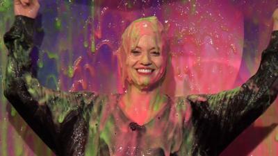 Saturday Mash-Up! - Kimberly Wyatt gets slimed