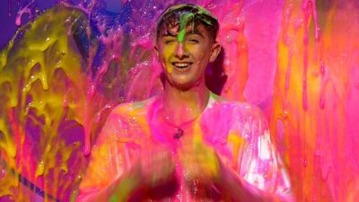 Saturday Mash-Up! - Lewys Ball gets slimed