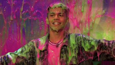 Saturday Mash-Up! - Nate from The Wonderland gets slimed!
