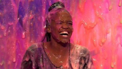 Saturday Mash-Up! - Oti from Strictly gets slimed!