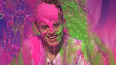 Saturday Mash-Up! - Reece from New Hope Club gets slimed