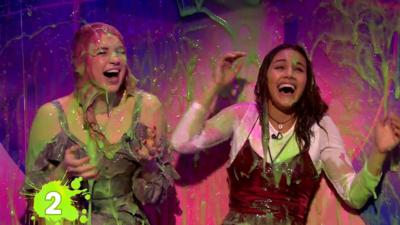 Saturday Mash-Up! - The Next Step girls get slimed