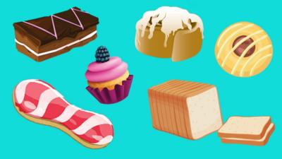 Saturday Mash-Up! - Pick your favourite baked goods