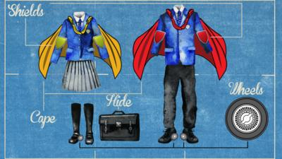 School Survival Guide - Your own cool school uniform designs