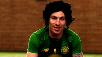 Match of the Day Kickabout - Scott Brown: music, hair and Scottish slang