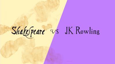 CBBC Book Club - Shakespeare VS J K Rowling