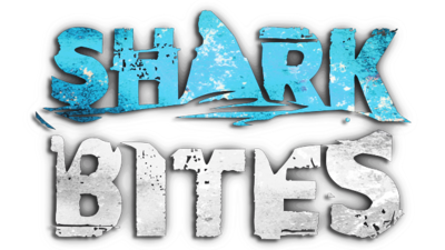 Shark Bites logo.