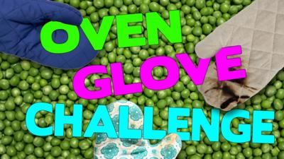 Saturday Mash-Up! - Oven Glove Challenge: Peas and Chopsticks!