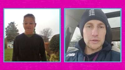 Saturday Mash-Up! - England Cricket hero Joe Root surprises fan!