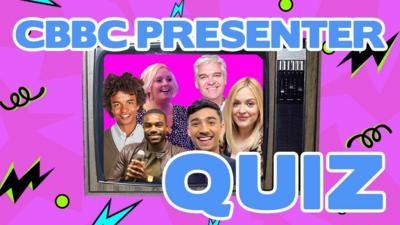 Saturday Mash-Up! - Quiz: Which CBBC show did they present?