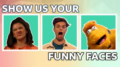 Saturday Mash-Up! - Can you pull a funny face?