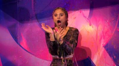 Saturday Mash-Up! - 'I'm A Celebrity' star Jessica Plummer gets SLIMED!