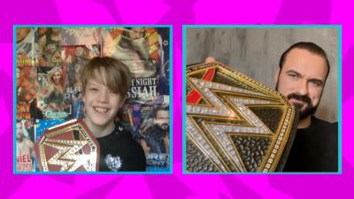 Saturday Mash-Up! - WWE Superstar Drew McIntyre SURPRISE