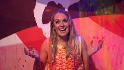 Saturday Mash-Up! - Dancing on Ice champ gets SUPER SLIMED!