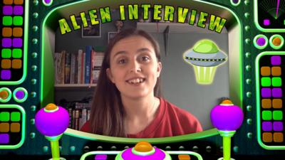 Saturday Mash-Up! - Kia Pegg's Alien Interview