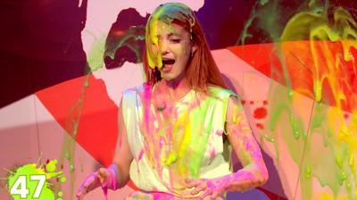 Saturday Mash-Up! - Strictly's Dianne gets SUPER SLIMED