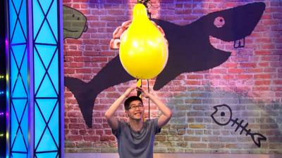 Saturday Mash-Up! - WATCH: Blow Your Mind balloon game