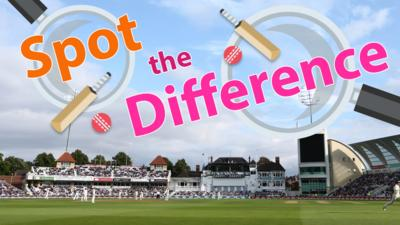BBC Sport - Spot the Difference: England v India Test