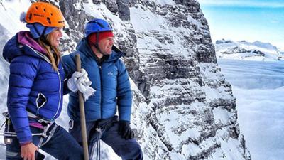 Steve Backshall Takes on the Ogre - Steve Backshall and the Eiger