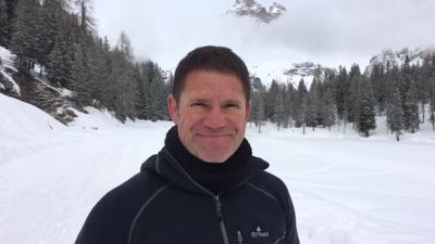 Steve Backshall Takes on the Ogre - Steve's made it and is on top of the world!
