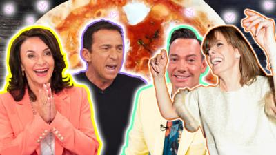 Strictly Come Dancing on CBBC - Quiz: Make a pizza for the Strictly judges