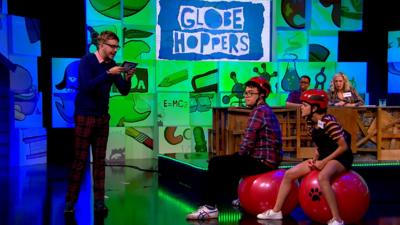 The Dog Ate My Homework - Globe Hoppin' with Lauren and Phil