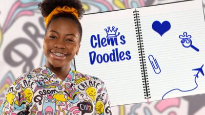 The Dumping Ground - Who is Clem doodling?