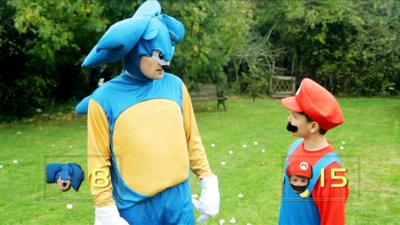Technobabble - Sonic vs Mario