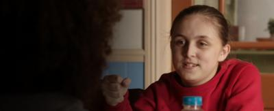 Jody looks at Tyler in The Dumping Ground.