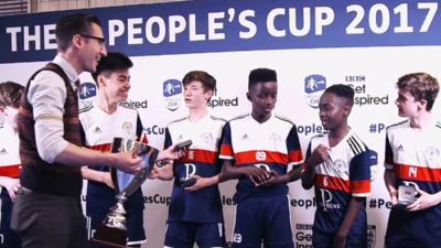 MOTD Kickabout - Kickabout at the FA People's Cup