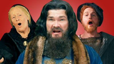 Horrible Histories - Quiz: Can you ace The Monarchs' Song?