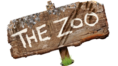 The Zoo sign logo.