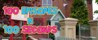 Ashdene Ridge with '100 episodes in 100 seconds' in it.