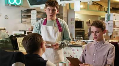 The Dumping Ground - Ryan tests Alex's cafe skills