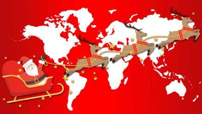 Top Class - Map Master: Santa Tracker