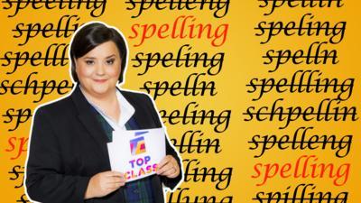 Top Class - Quiz: Spelling