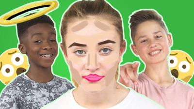 Top This - Orla's made up for the make-up challenge