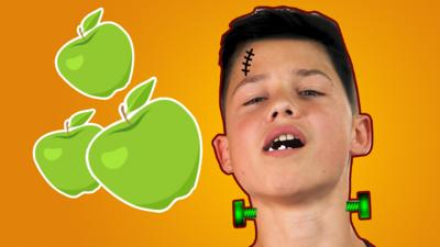 Top This - Apple bobbing and doughnut scoffing challenges